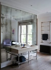 Antique Mirrored Wallpaper - Mad About The House