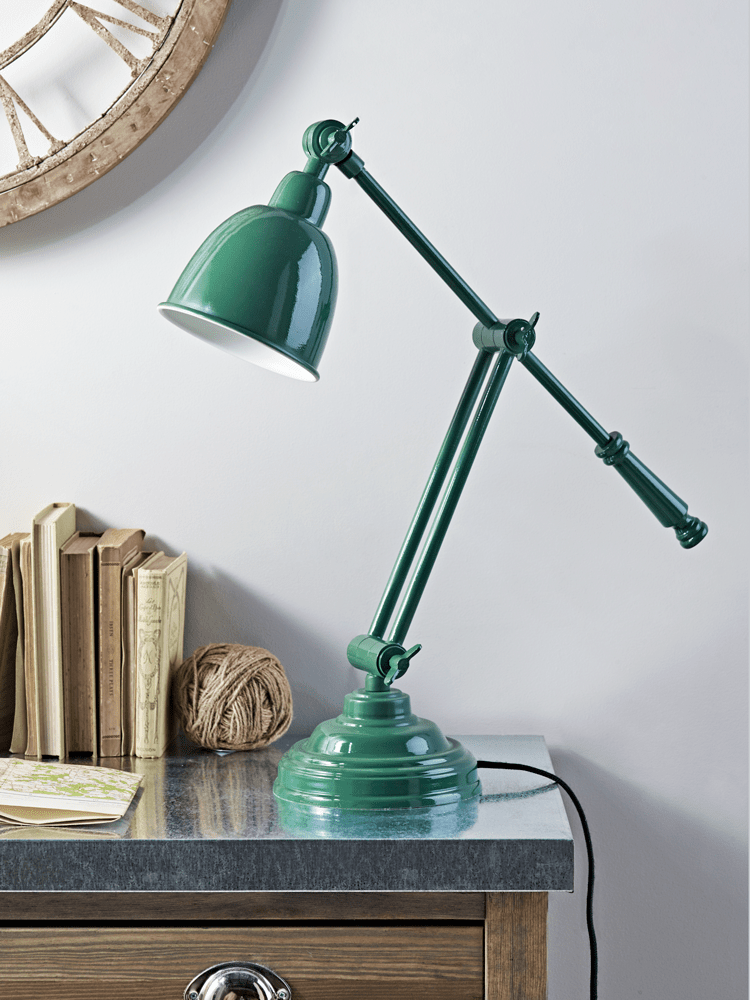 Green Desk Lamps Style