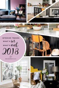 Interior Trends for 2018 Guest Post - Mad About The House