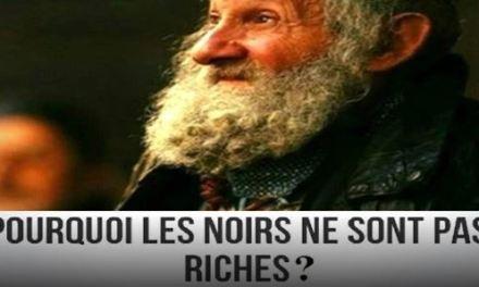 """La vérité sur la pauvreté des """"NOIRS"""". Aussi valable pour Madagascar et les pays d'Afrique?"""