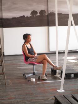 """Portrait:  Nadia Randriamorasata sa Gallérie virtuelle """" multimédia artist"""""""