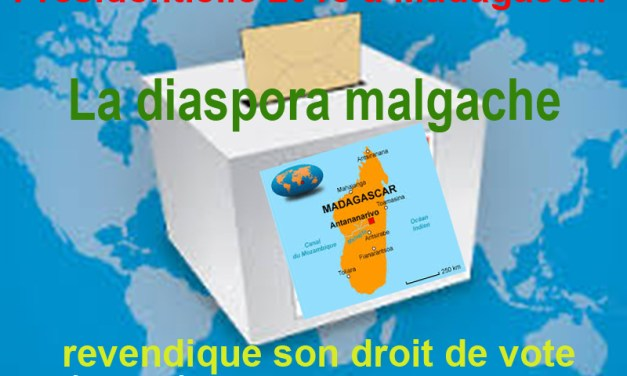 La diaspora malgache revendique son droit de vote auprès du président Hery Rajaonarimampianina