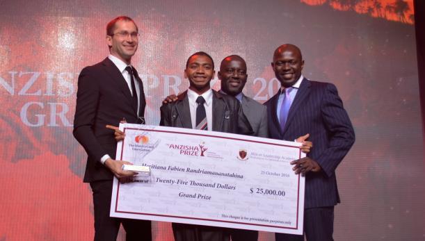Un Malagasy lauréat de l'Anzisha Prize
