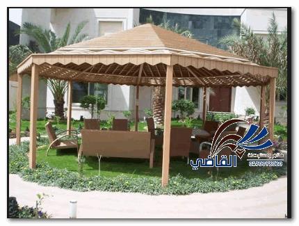 مظلات خارجيةللمنازل