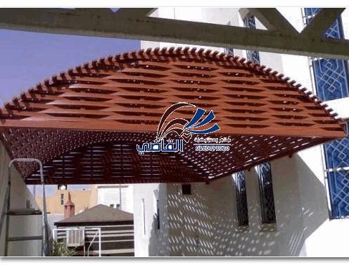 مظلات مداخل الفلل1