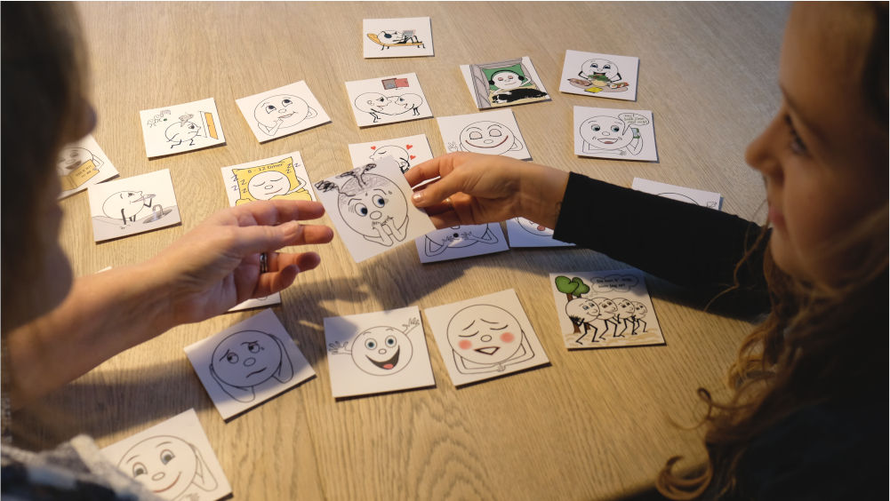 autisme Samtalekort  med billeder