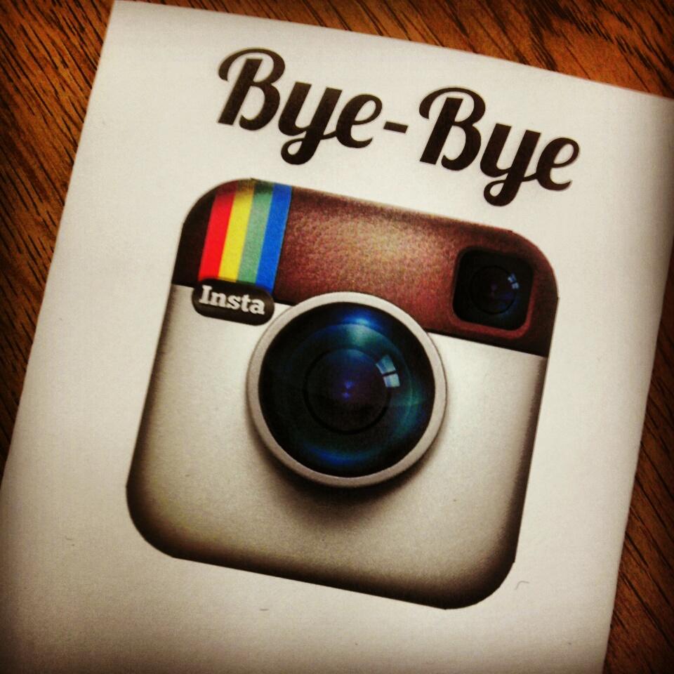 Bye-Bye-Instagram
