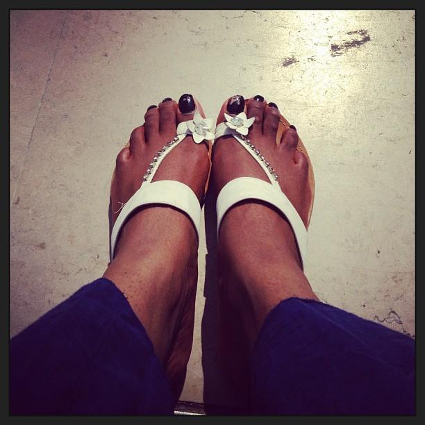 Mes pieds au soleil ( trocadero)