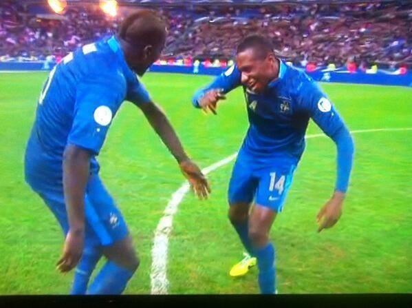 Le coupé-décalé de Mamadou Sakho et Blaise Matuidi