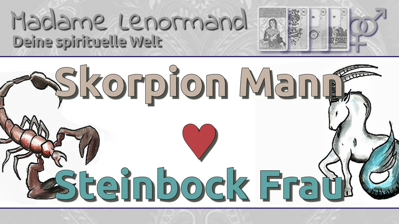 Skorpion Mann Steinbock Frau Liebe Und Partnerschaft
