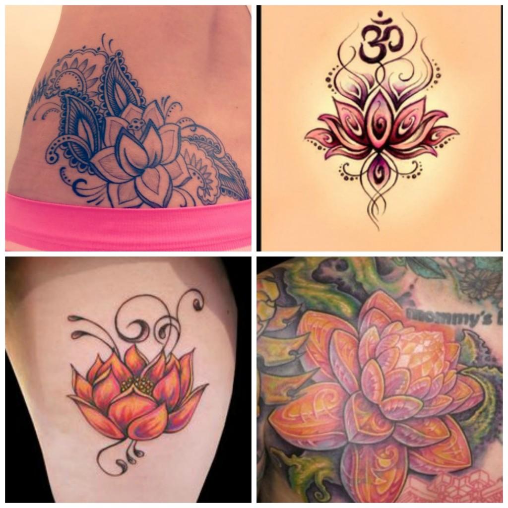 Modele Tatouage Fleur De Lotus