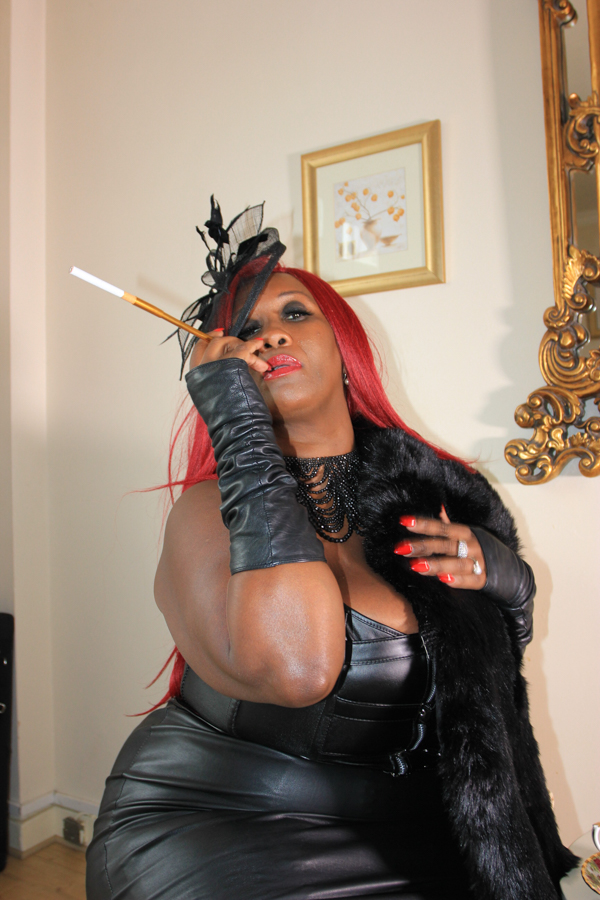 Leather Mistress  Madame Caramel