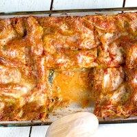 Gemüse-Lasagne mit Spinat: Amore Italia