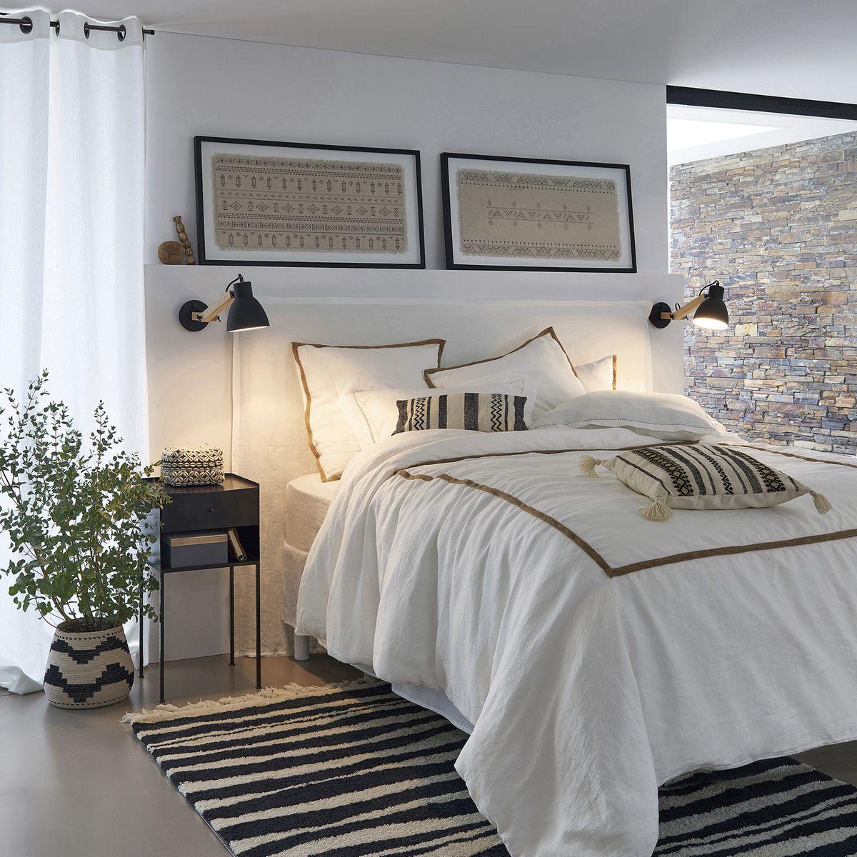 un lit digne des plus beaux hotels