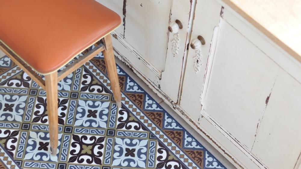 ou trouver un beau tapis en vinyle