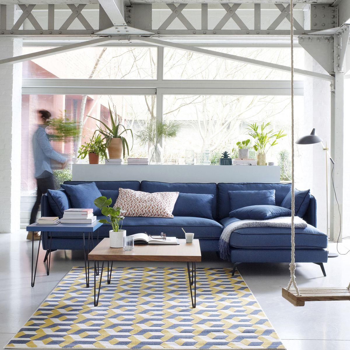 objet du desir je veux un canape bleu