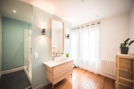 Quand une chambre se transforme en salle de bain-Armentières