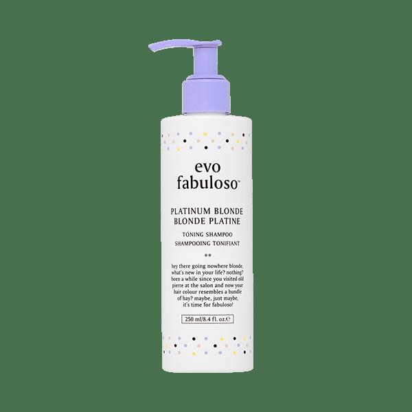 EVO Fabuloso - platinum blonde - toning shampoo