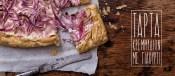 Γρήγορη τάρτα με κρεμμύδια και φέτα