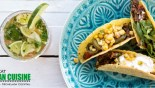 Μεξικάνικα τάκος με μοσχάρι & cocktail Michelada