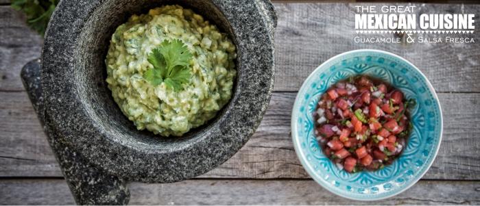 Guacamole y Salsa