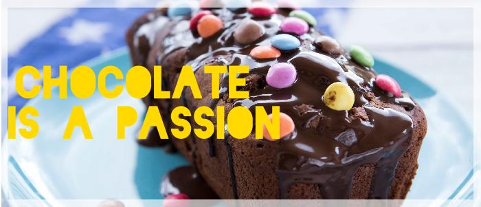 Κέικ Σοκολάτας με γλάσο Πραλίνας