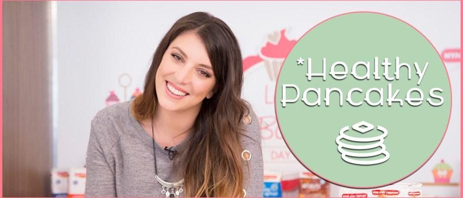 Pancakes ολικής άλεσης (Video)