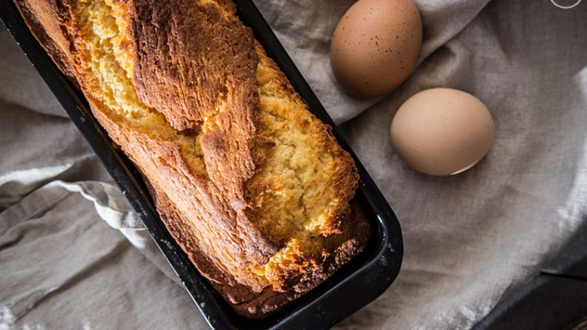 Κλασσικό κέικ βανίλιας, χωρίς γλουτένη