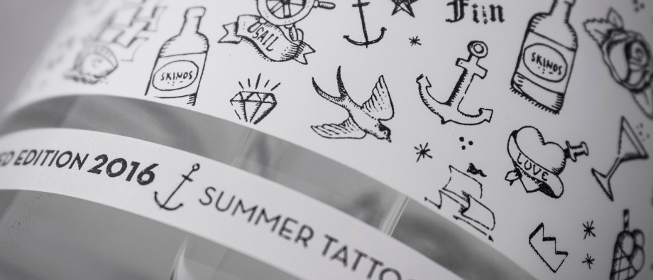 My Summer Tattoos σε φιάλη Skinos!
