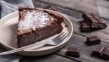 Υγρό κέικ σοκολάτας