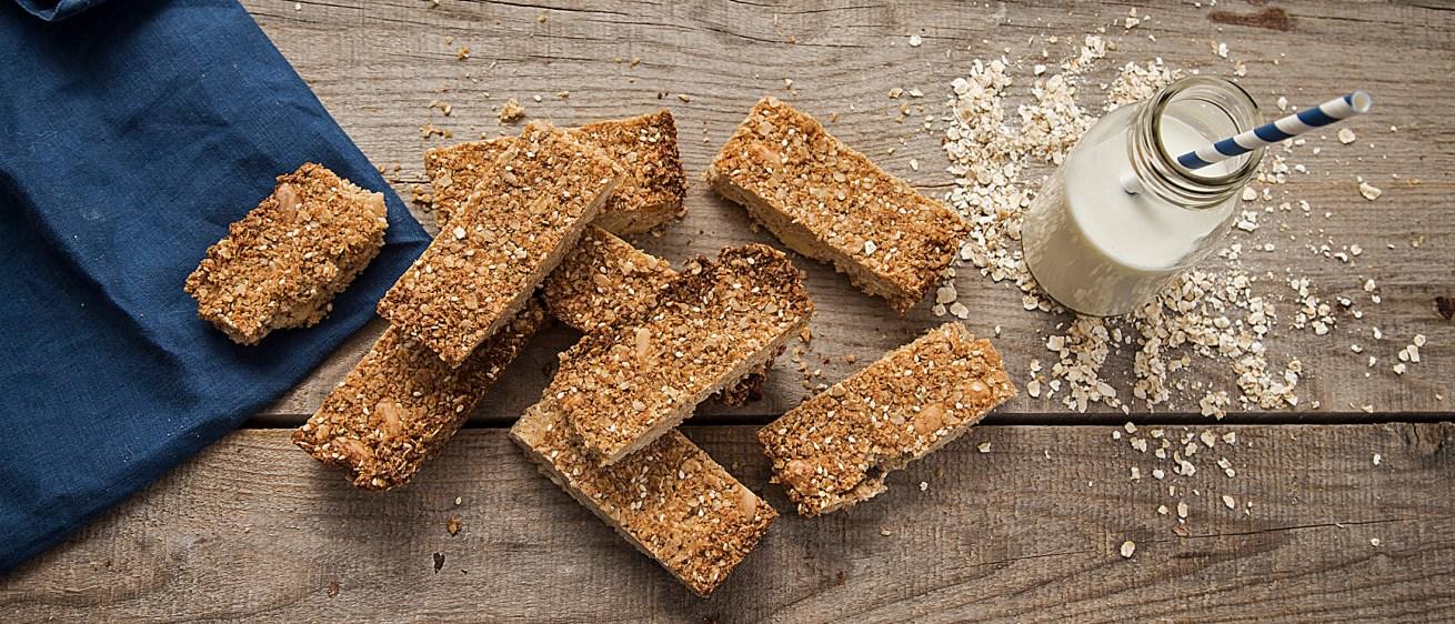 Σπιτικές μπάρες δημητριακών χωρίς ζάχαρη