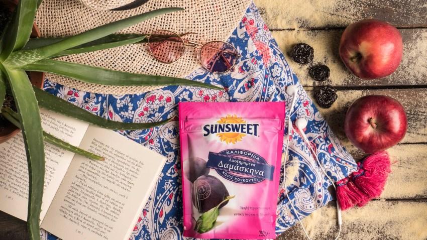 Σούπερ διαγωνισμός SUNSWEET® & Madame Ginger