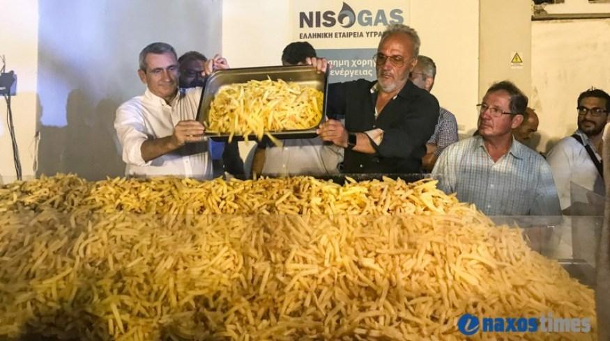 Η Νάξος ετοιμάζεται να πετάξει (ξανά) 2 τόνους πατάτας
