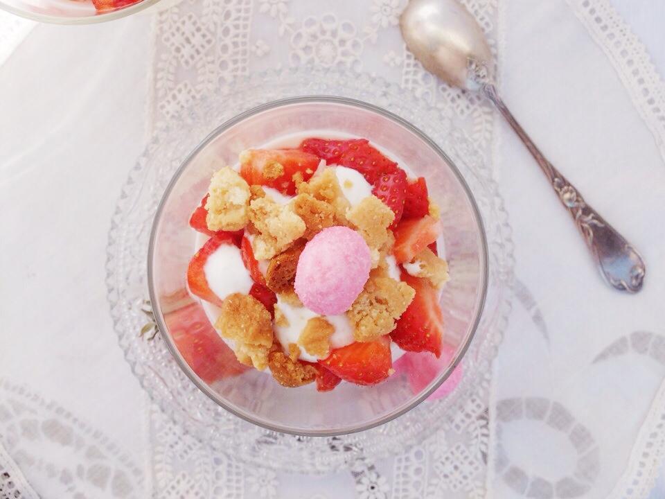 panacotta fraise tagada