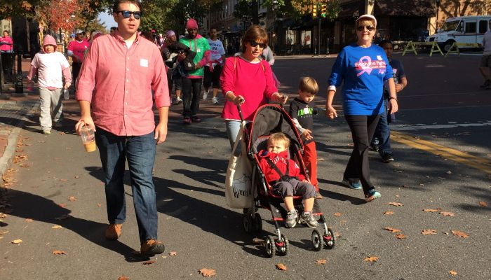 Making Strides and Breast Cancer 2014