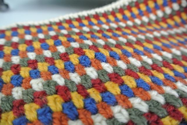 Crochet linen stitch 1