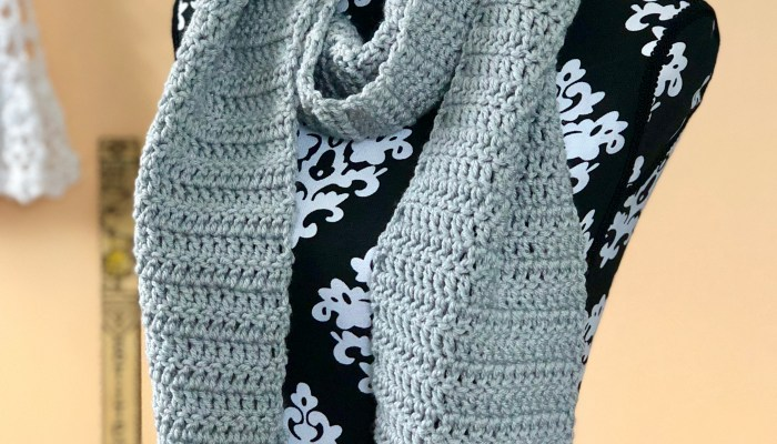 Easy Double Crochet Scarf Pattern