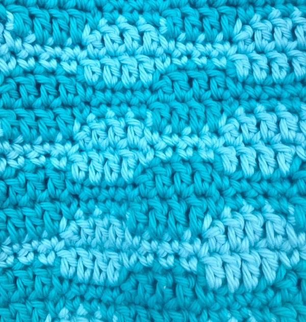 Smooth Waves Crochet Stitch