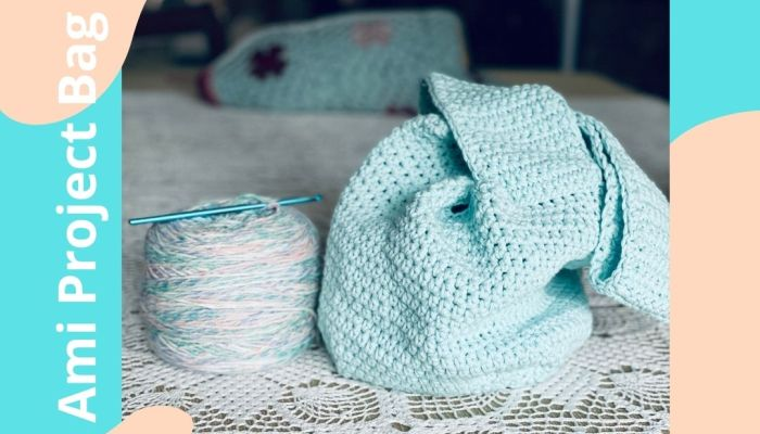 The Ami Project Bag Crochet Pattern by MadameStitch