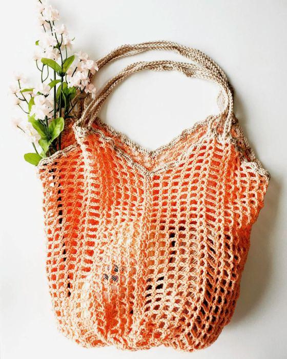Network Shopper crochet pattern by Handmade by Raine