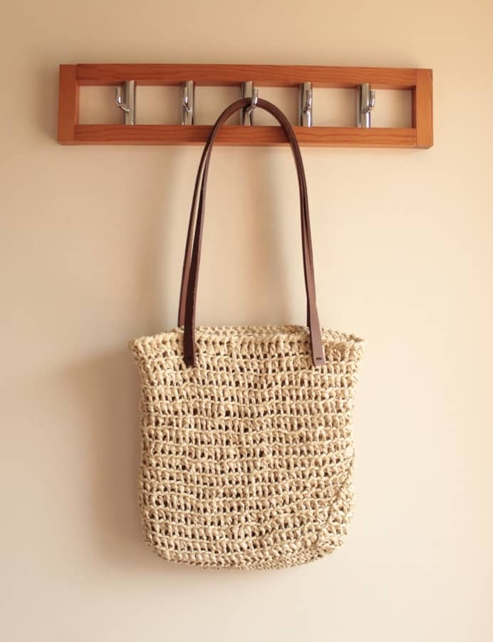 Raffia Bag crochet