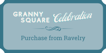 Purchase the baby blanket crochet pattern from Ravelry with the discount code.