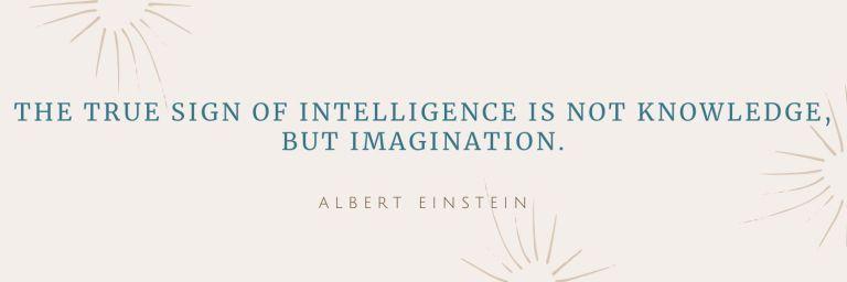 Quote by Albert Einstein about intelligence