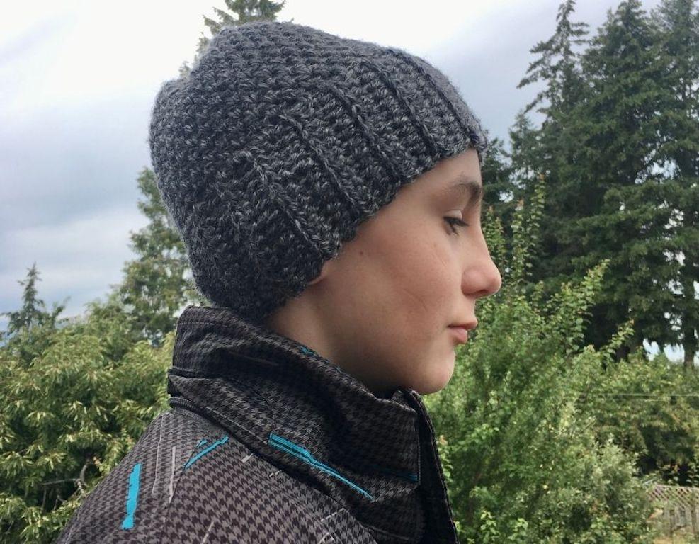 Spencer Beanie by Through the Loop Yarn Craft