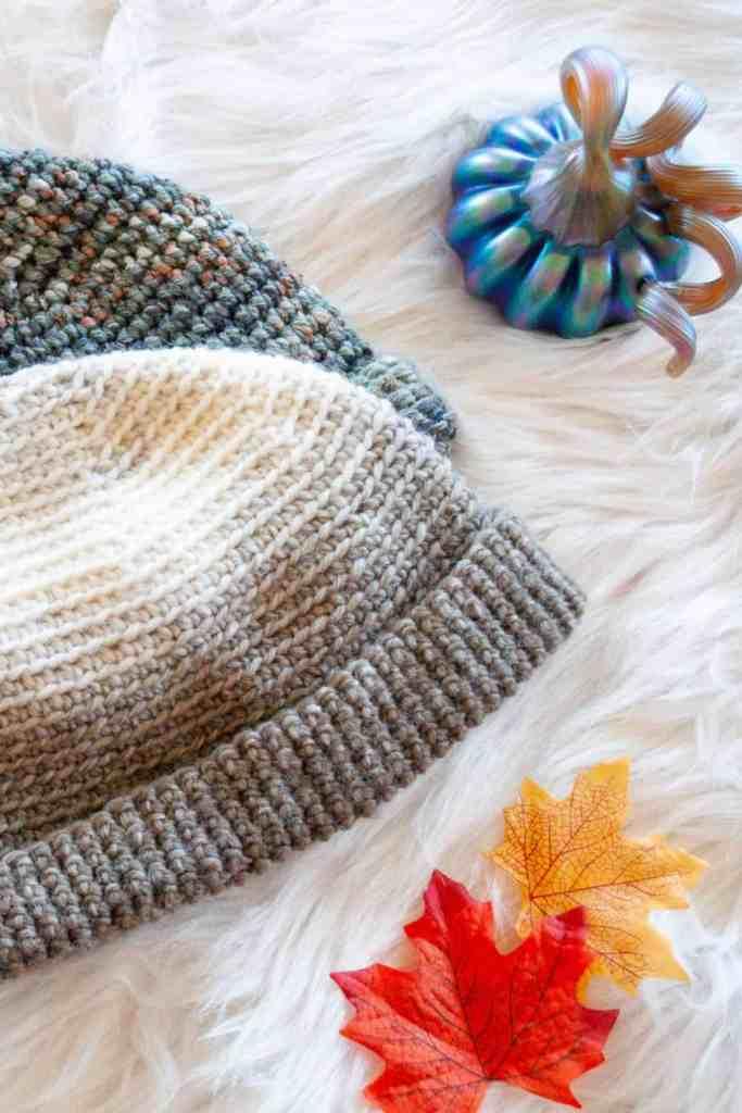 Bulky yarn hat pattern by Crafting Each Day