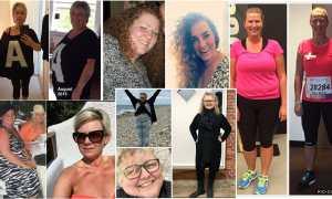 Vægttab og alder