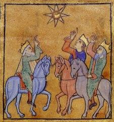 Stanza 6 Star Of Magi Eadwine Psalter Folio 1r