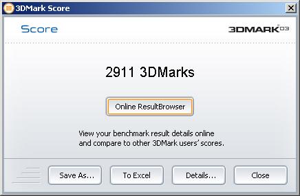 3DMark03 XT