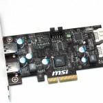 MSI también ofrecerá adaptadores USB 3.0 y SATA 6.0Gbps
