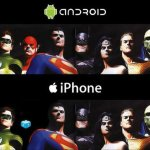 Sin Palabras: Android Vs iPhone